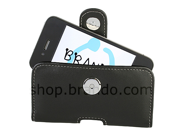 Brando Workshop Leather Case for iPhone 4 (Pouch Type)