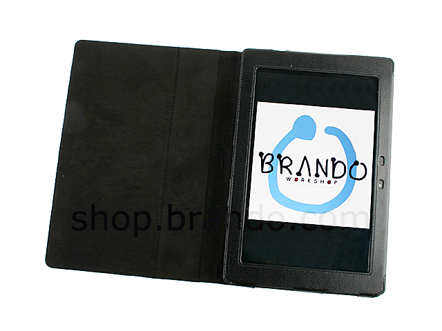 Artificial leather case for Asus Eee Pad Transformer TF101 (Side Open)