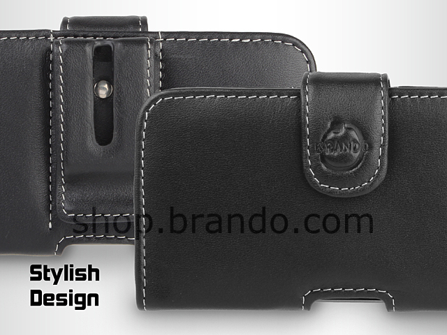 Brando Workshop Leather Case for Samsung Galaxy S II LTE GT-I9210 (Pouch Type)