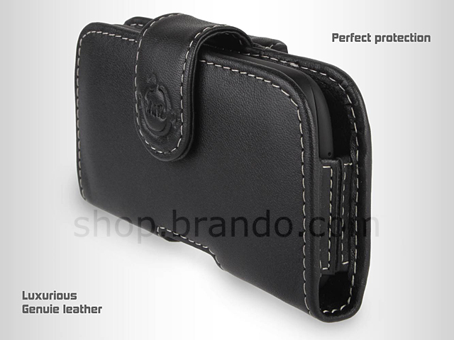 Brando Workshop Leather Case for HTC Desire C (Pouch Type)