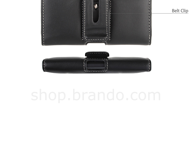 Brando Workshop Leather Case for HTC Windows Phone 8X (Pouch Type)