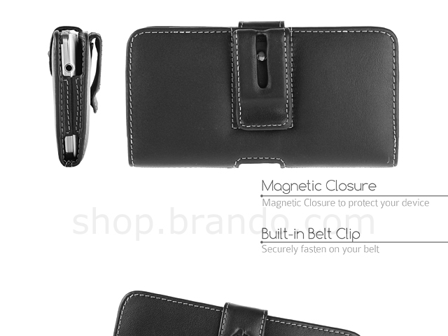 Brando Workshop Leather Case for Samsung Galaxy Note 3 (Pouch Type)