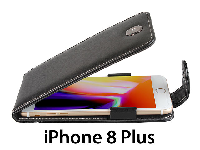 Brando Workshop Leather Case for iPhone 8 Plus (Flip Top)