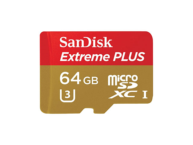 SanDisk Extreme PLUS Micro SD UHS-I Card (Class 10 - 80MB/s)