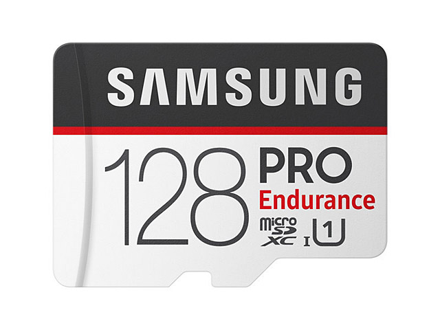 Samsung PRO Endurance UHS-I MicroSD Card (R:100MB/s W:30MB/s)