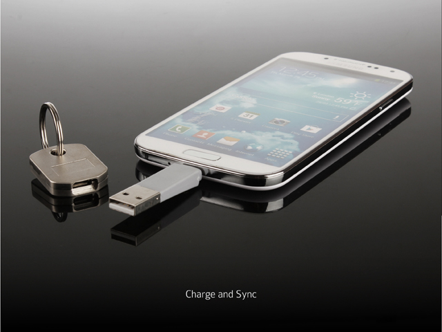 Key Chain Micro-USB Charger