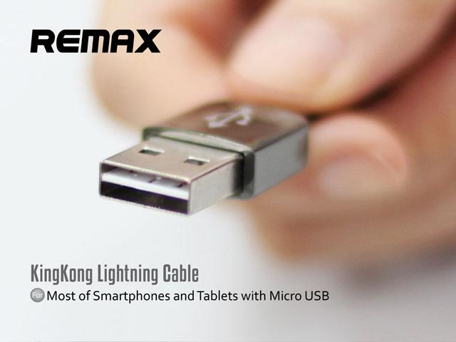 Кабель REMAX KingKong (micro-usb/usb с двусторонним USB) с негуманным ценником и запахом от Шанель
