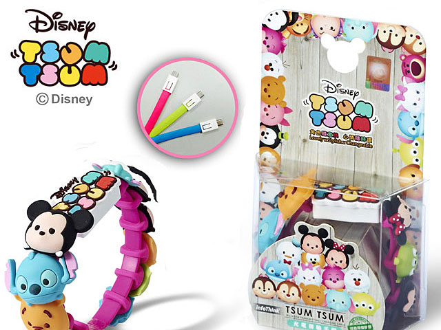 Disney Tsum Tsum Micro USB Sync Charging Cable
