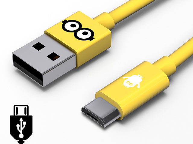 Tribe Minions Tom microUSB Cable