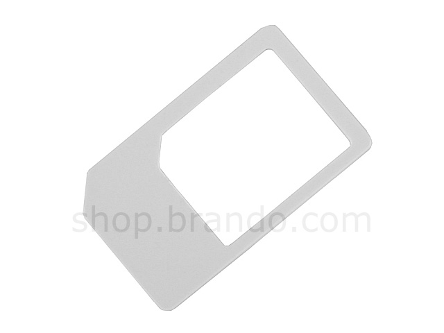 iPad 3G MicroSIM Adapter