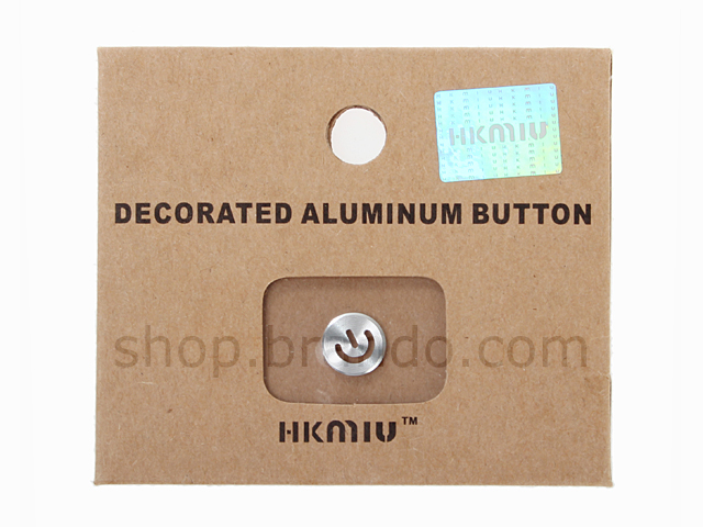 Shiny Metallic Button Sticker for IPhone / IPad / IPod