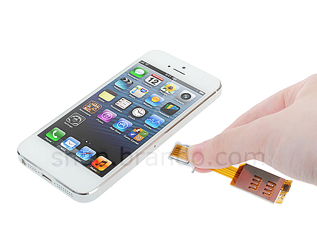 sim card iphone 5 dual sim card for iphone 5 5s with back 16133