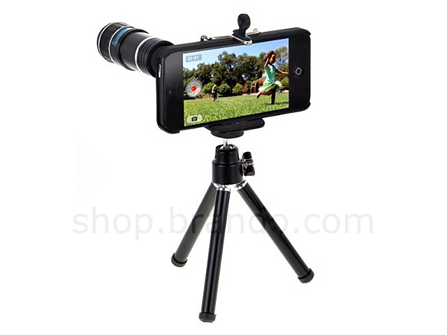 iphone camera stand professional iphone 5 5s 12x zoom telescope lens 8863