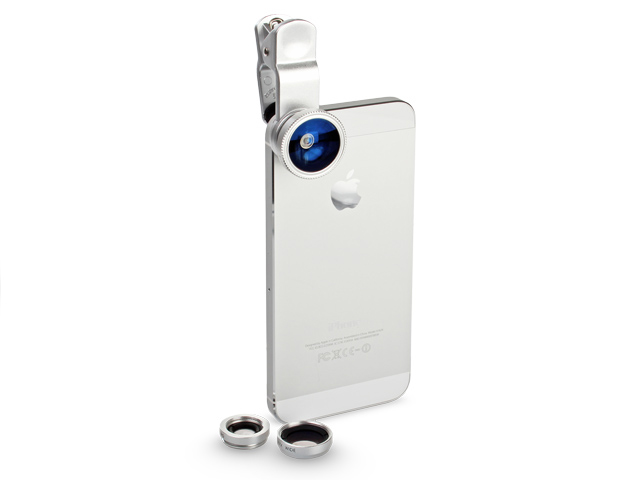 Portable Clip-On Universal Mobile Phone Camera Lens (Wide Angle +