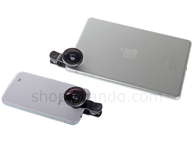 Universal SUPER Wide 0.4X Clip-On Lens for Smart Phones