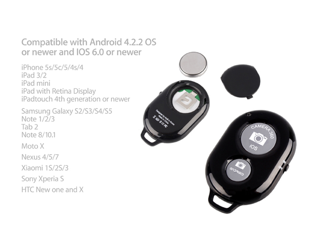 How To Install A Battery >> AB Shutter 3 - Bluetooth Remote Shutter