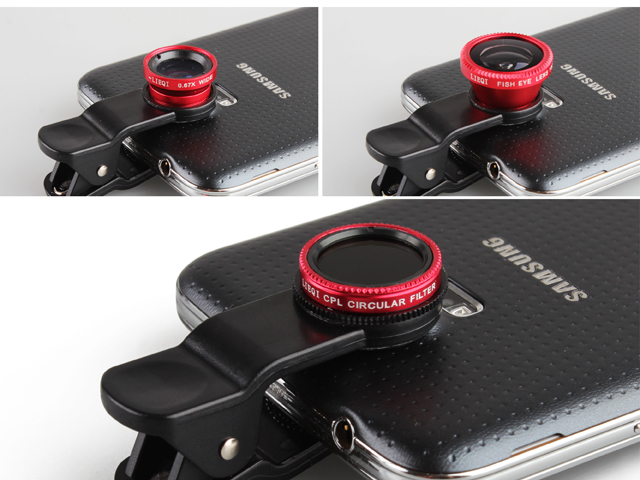 Universal 4-in-1 Clip-On Lens
