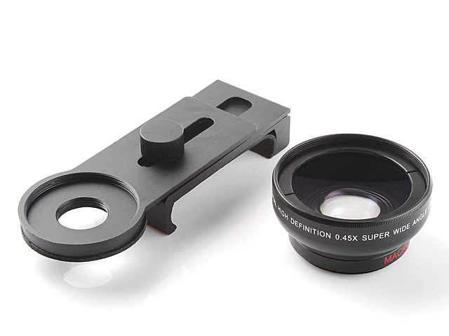 Universal 0.45X Wide Angle Macro Lens Clip