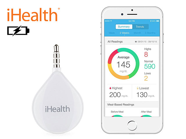 iHealth BG1 Bluetooth Blood Glucose Monitor