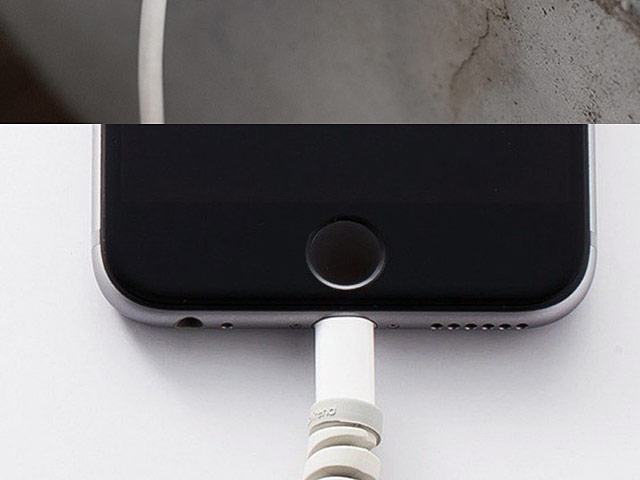 Spiral Silicone Cable Protector Cover