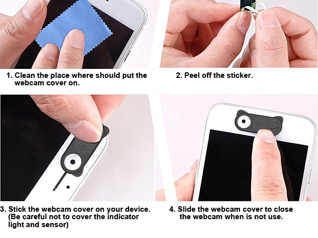 Slider Camera Privacy Cover
