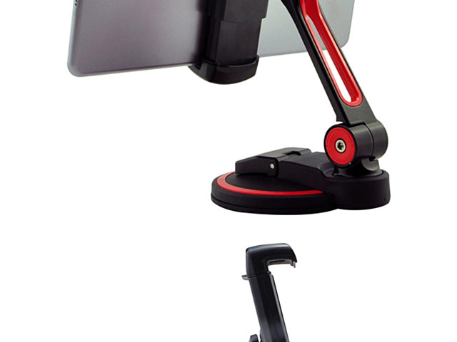 Extra Large Single Suction Cup Base Tablet and Smartphone Stand
