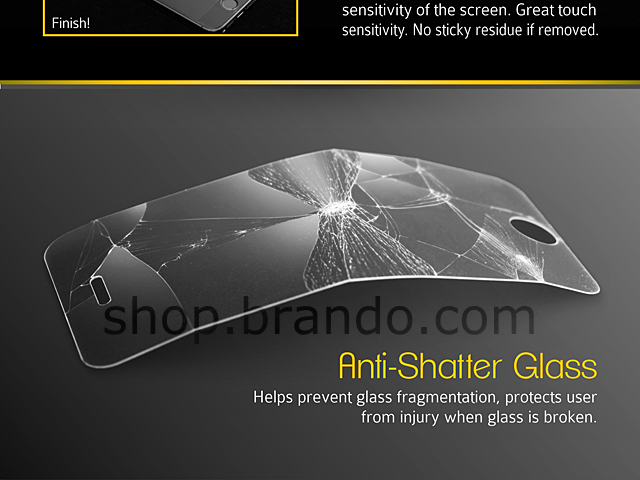 Brando Workshop 0.2mm Premium Tempered Glass Protector (Google Nexus 5)