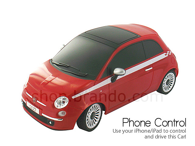 beewi fiat 500 bluetooth controlled car for iphone ipad. Black Bedroom Furniture Sets. Home Design Ideas