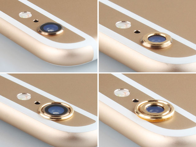 best cheap c8806 27857 iPhone 6 Plus / 6s Plus Rear Camera Protective Metal Lens Ring