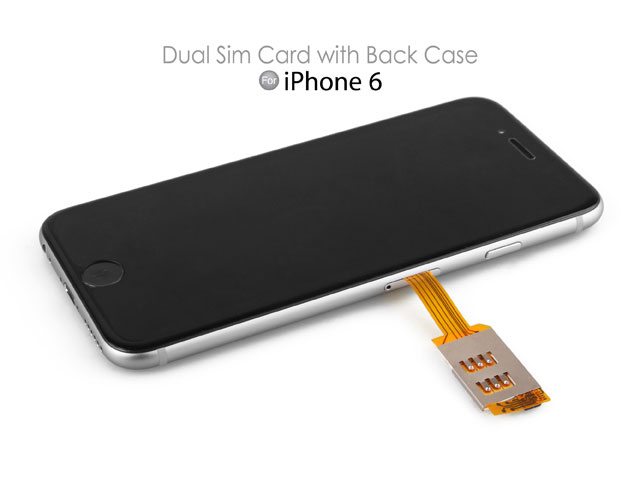 sim card for iphone 6 dual sim card for iphone 6 with back 18014
