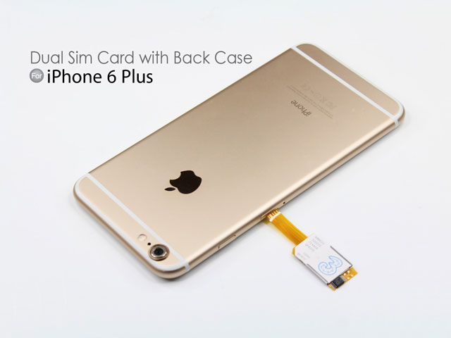 sim card for iphone 6 dual sim card for iphone 6 plus with back 18014