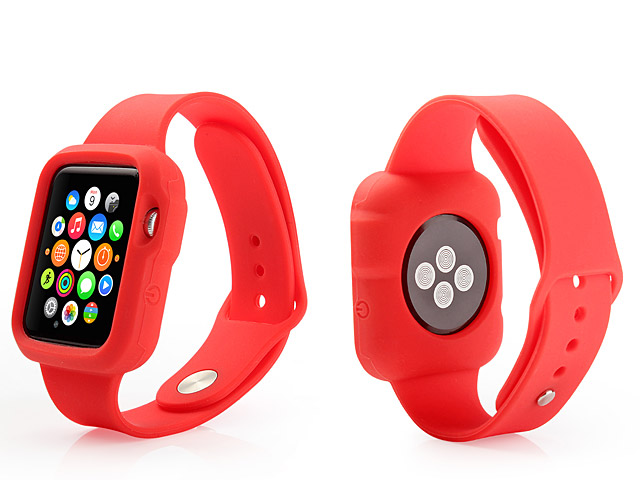 Apple Watch Silicone Watch Wrist Strap