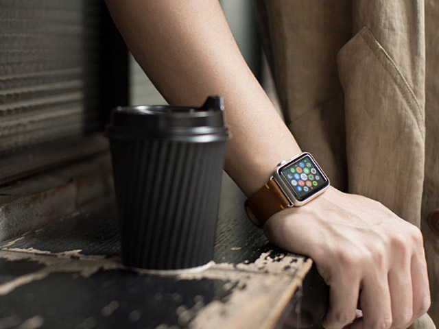 Momax The Core Leather Band for Apple Watch