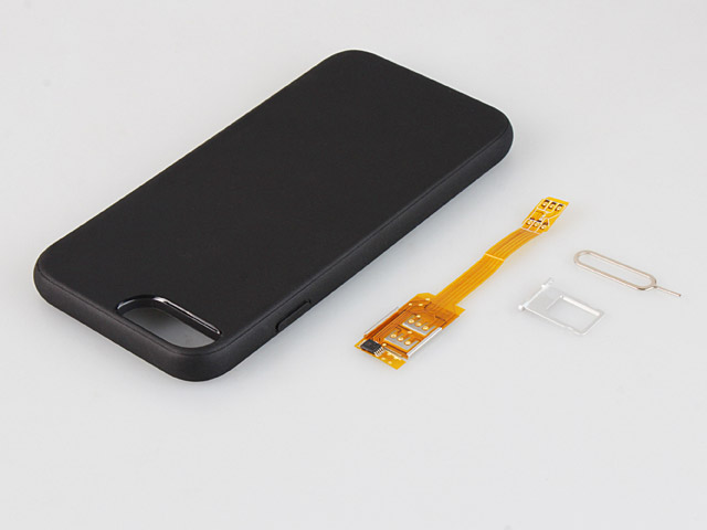 Dual Sim Card for iPhone 6s with Back Case