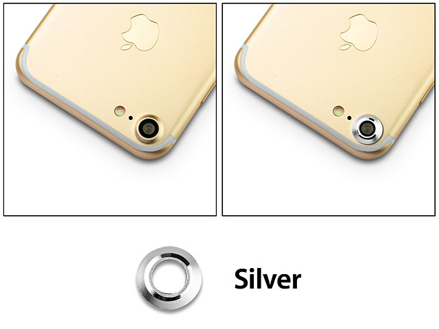 iPhone 7 Rear Camera Protective Metal Lens Ring