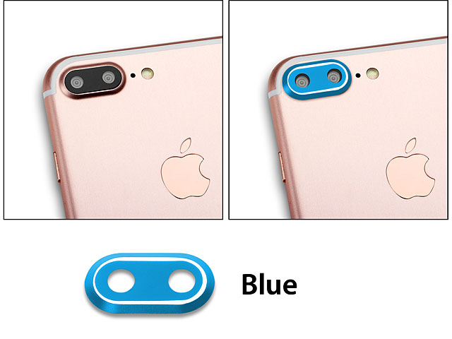 iPhone 7 Plus Rear Camera Protective Metal Lens Ring