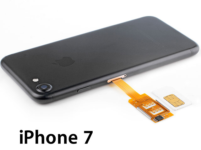 iphone no sim card dual sim card for iphone 7 with back 6340