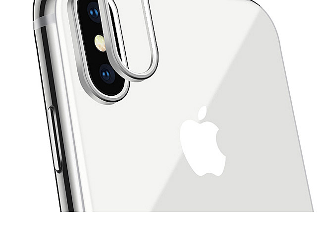iPhone X Plus Rear Camera Protective Metal Lens Ring