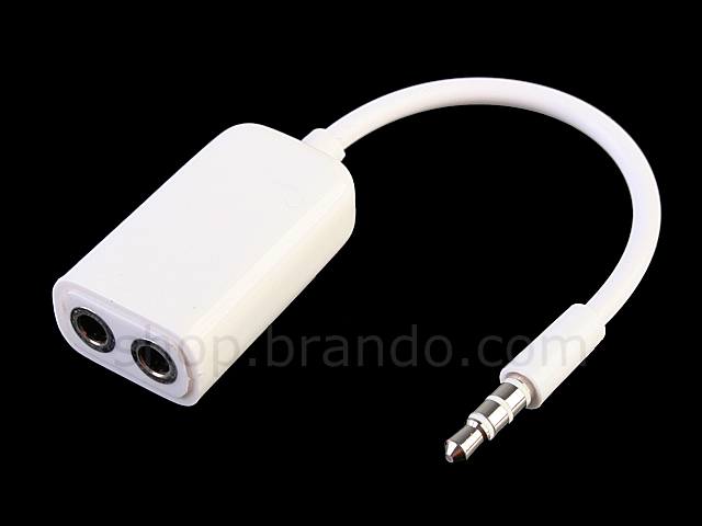 2-in-1 3.5mm Headphone Adapter