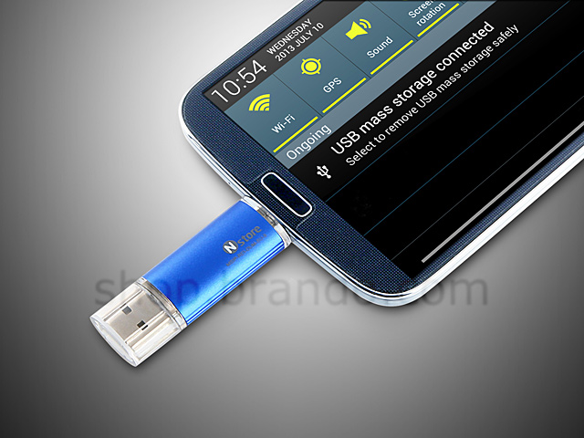 microUSB 2-in-1 OTG Card Reader