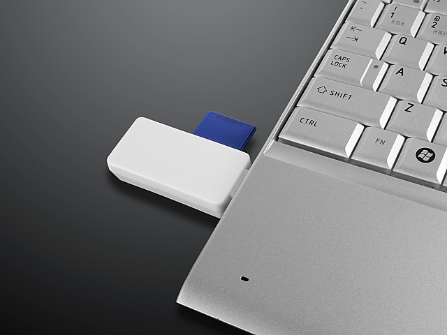 Enter + Ctrl Keys MicroUSB OTG Card Reader