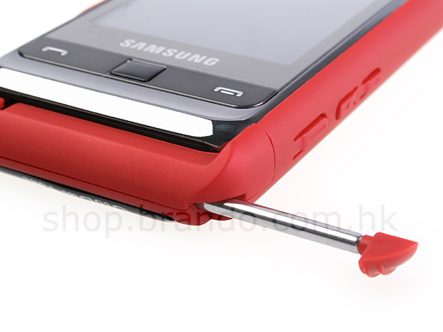 Samsung i900 Omnia Rubberized Back Hard Case