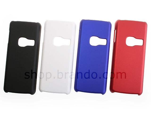official photos 055c7 17664 Nokia 6300 Rubberized Back Hard Case