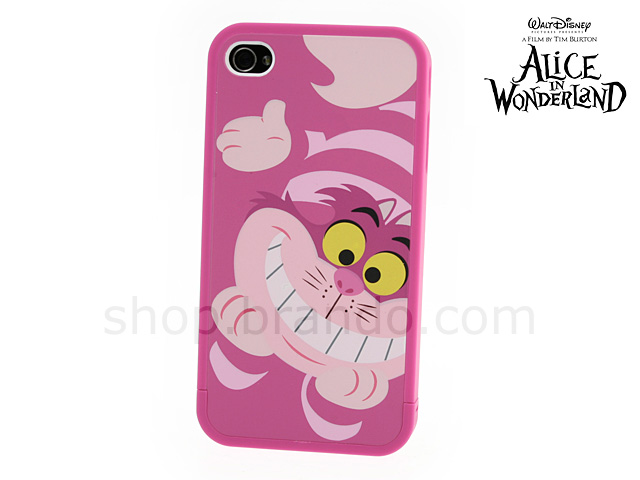 buy popular 3e4a1 e3f61 iPhone 4 DISNEY Alice in Wonderland - Cheshire Cat Phone Case ...