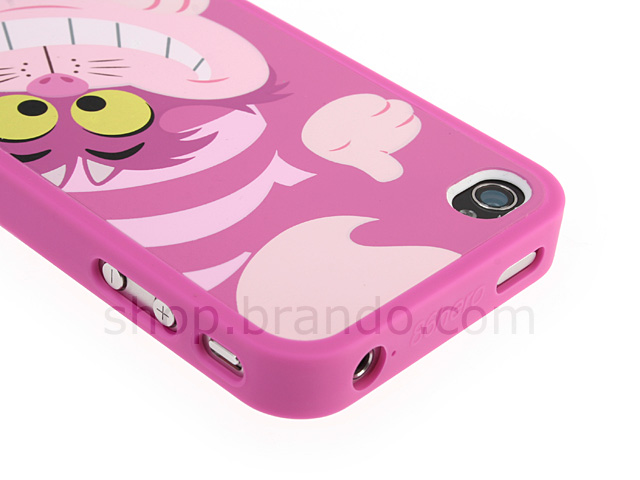 Iphone 4 Disney Alice In Wonderland Cheshire Cat Phone