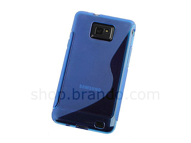 Samsung Galaxy S II Wave Plastic Back Case