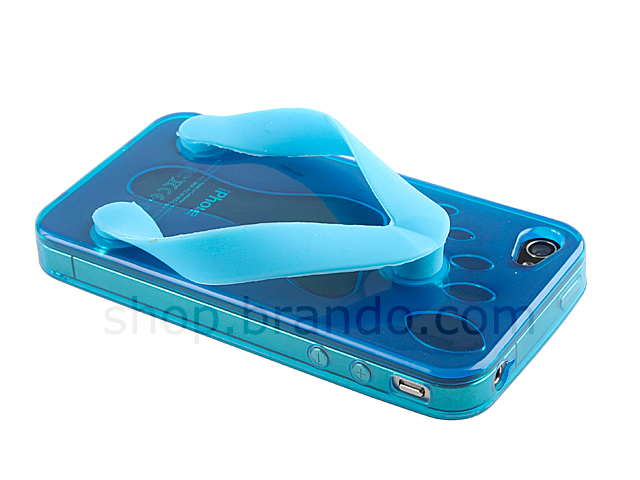 iPhone 4 Slippers Plastic Case