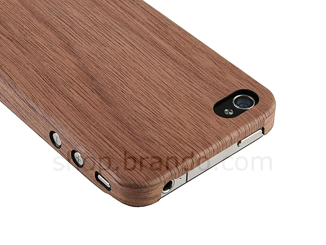 EVOUNI Super-Thin Wooden Case for iPhone 4