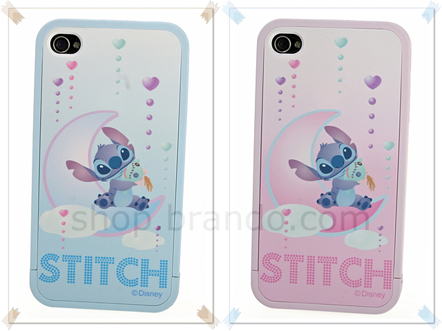 Iphone 4 Disney Stitch And Scrump Phone Case Limited