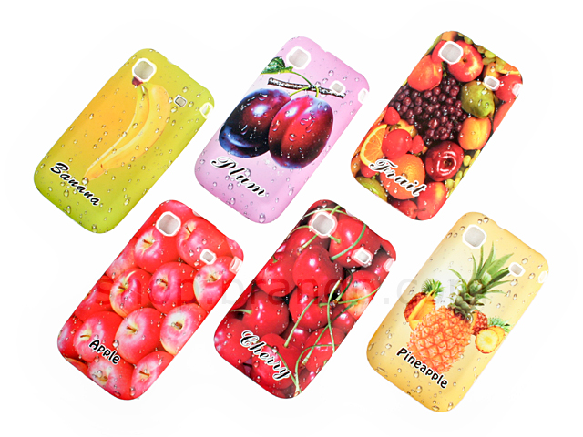Samsung i9000 Galaxy S Fruit Print Plastic Back Case